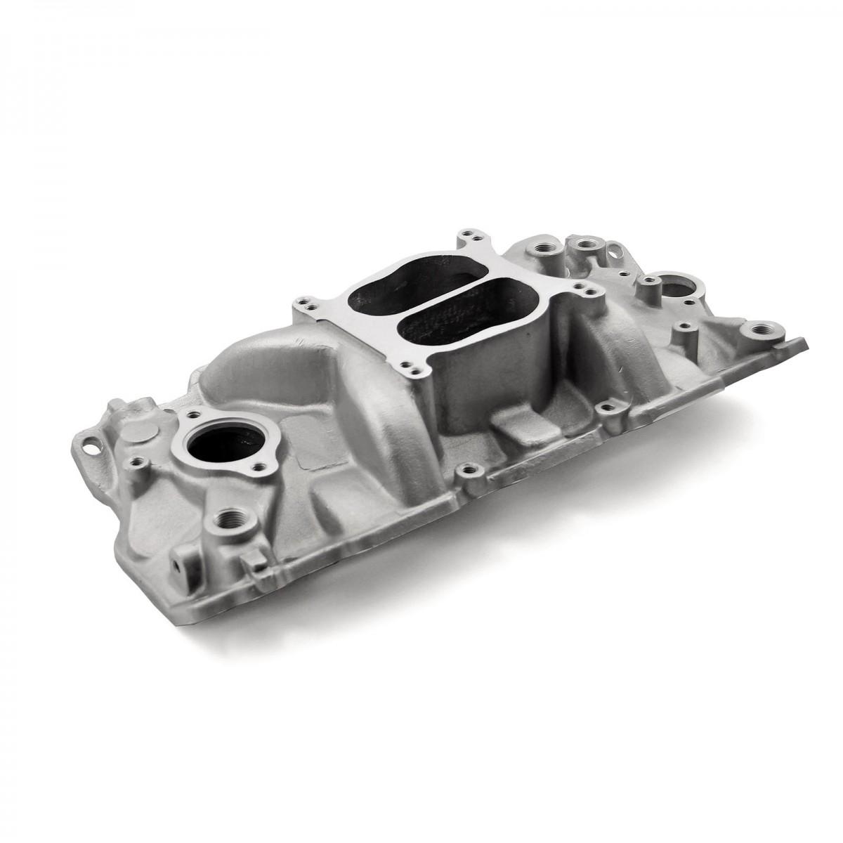 Chevy SBC 350 Holeshot 1957-95 (Non Egr) Intake Manifold Satin