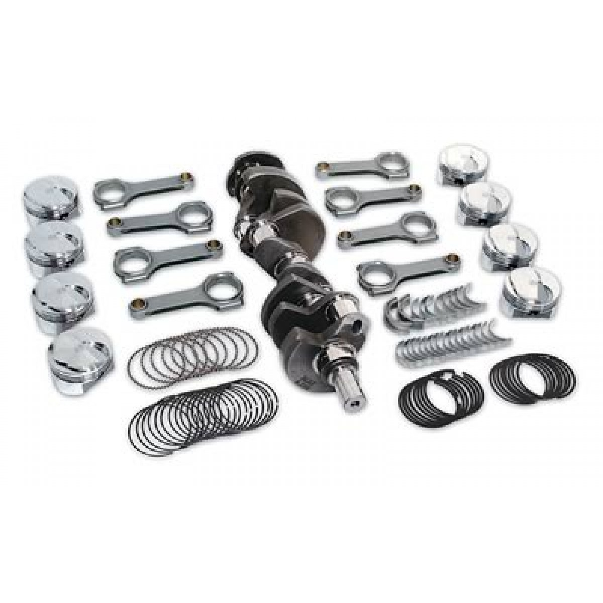 Chevy LS 5.3L To 5.9L SCAT STROKER KIT 24x Reluctor -7cc