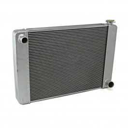 Gm Chevy 28x19x2.2 Aluminum Radiator (TL-BR O/Lets) Non Polished
