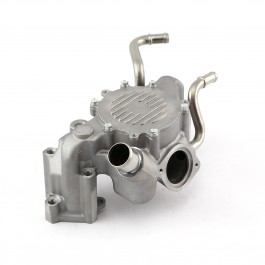 Chevy SBC 350 LT1 1995-96 High Volume Aluminum Water Pump Satin. PCE195.1023