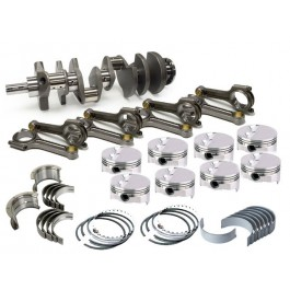 Chevy 350 Custom Forged Pistons 10.6 C/R Balanced Kit #350N
