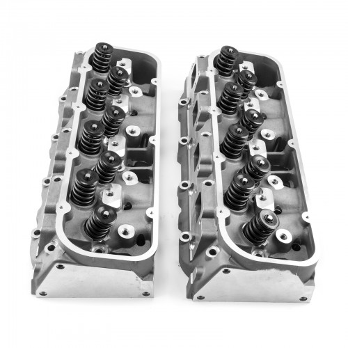 Chevy Big Block 454 Aluminum Heads 119cc Chamber COMPLETE