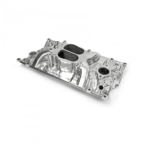 Chevy SBC 350 Holeshot Vortec Intake Manifold Polished