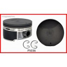 P5036 - FLAT TOP HYPER/COATED 2005-09 4.8/5.3 CHEVY GMC TRUCK V8 REPLACEMENT PISTONS