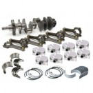 Chevy 350 to 383 ALL FORGED 4340 CRANK 4340 H BEAM RODS FORGED PISTONS