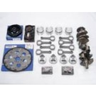 Chevy 305 C.I.  to 334 C.I  STROKER KIT 10.1 Compression with 58CC HEADS   Early 2pc  Rear Seal