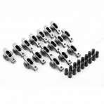 """Chevy BB 396  427  402  454 1.7 7/16"""" Stainless Steel Roller Rocker Arms With Posi Locks"""