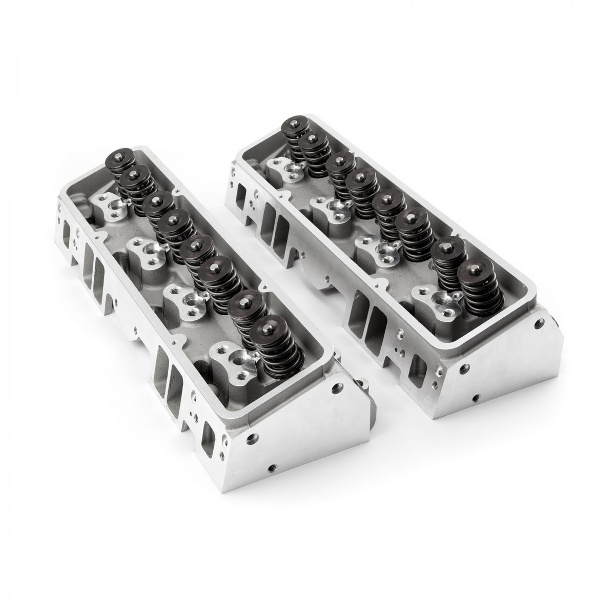 Works With 73-95 Chevrolet Big Block Engines Aluminum Graphite, Steel Bolts//Studs, Silver Exhaust Gasket