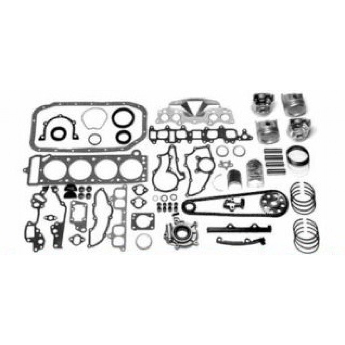 1995-99 u0026 39  chrysler 2 0l 4 cyl dohc 16v 420a - ekc2095d master engine kit - dodge