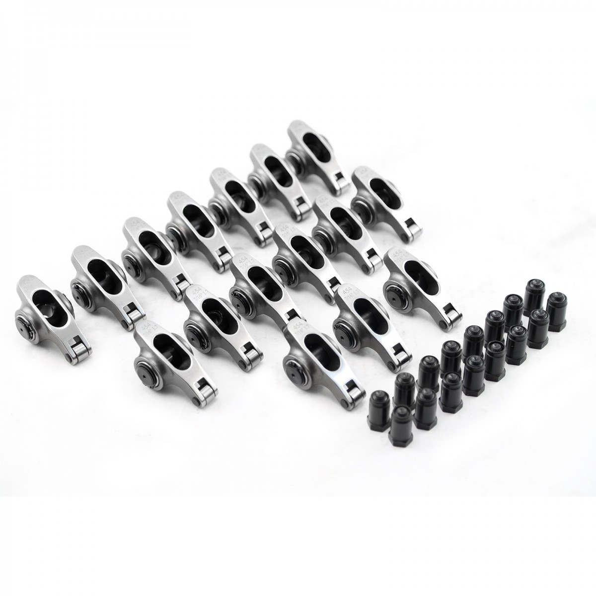 """Chevy SBC 283 327 350 400 1.5 3/8"""" Stainless Steel Roller"""