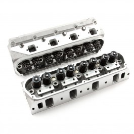 Ford Small Block 302 Aluminum Heads REQUIRES AFTERMARKET INTAKE   '' PAIR '' COMPLETE 62cc Chamber 180cc Runner As Cast