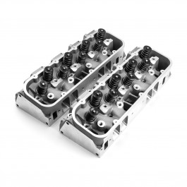 Chevy Big Block 454 Aluminum Heads 125cc Chamber 360cc Rec Intake CNC