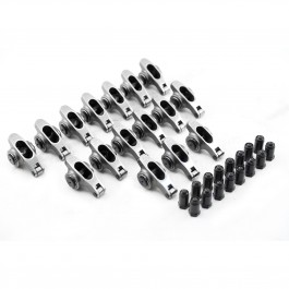 "Chevy SBC 283  327  350  400  NEW LOWER PRICE 1.5 3/8"" Stainless Steel Roller Rocker Arms With Posi Locks"