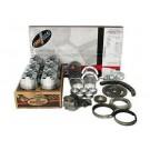 EngineTech RMCR226BP 2005-12 Chrysler Truck 226ci 3.7 V6 12V Vin-K Premium ReMain Kit {Plastic Valve Covers}