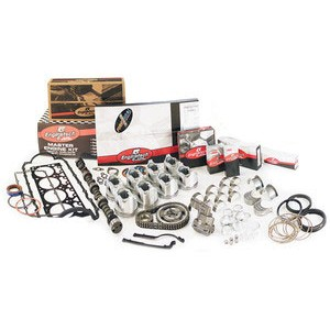 EngineTech MKC350A - ON LINE ONLY   FREE FREIGHT U.S.  EXC. AK. HI. 2 piece  rear main seal /carb. 1967-1985 Chevrolet 350 Master Engine Rebuild  Kit  SOLD WORLD WIDE